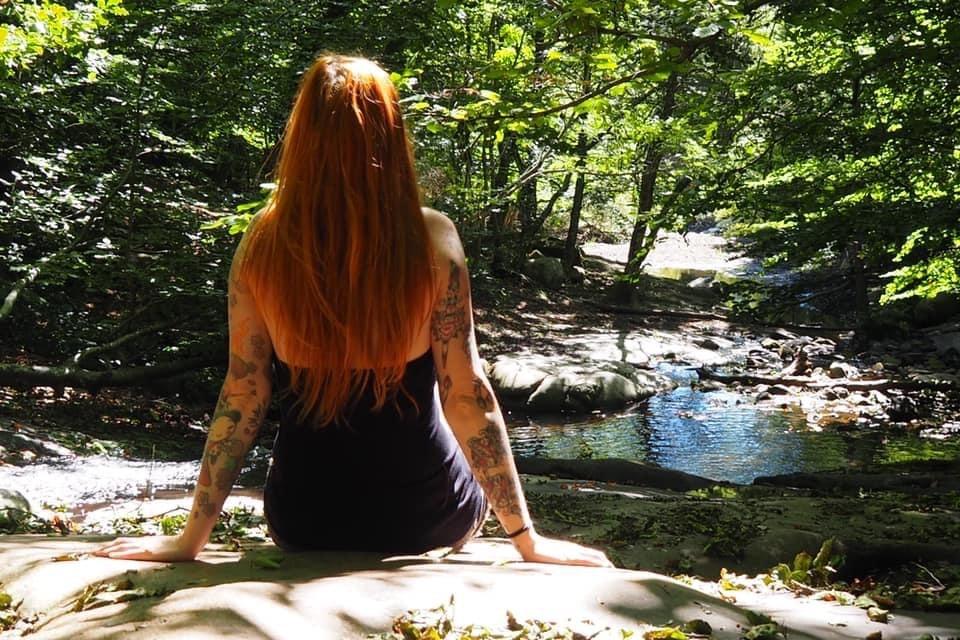 Caroline Gourdier - la psicóloga tatuada